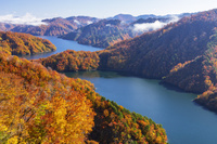 福島県 田子倉湖