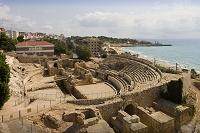 タラゴナのて ローマ時代の円形競技場