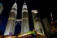 マレーシア クアラルンプール KLCC地区 ツインタワー