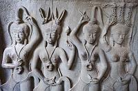 カンボジア アンコール・ワット 彫刻