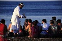 バリ島の風景 祈り