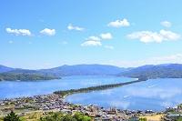 京都府 傘松公園から見る初夏の天橋立