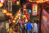台湾 九フンの街並み