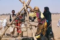 スーダン ハルツーム近郊 サハラの井戸
