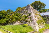 兵庫県 明石城 天守台の石垣
