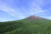 夏富士と青空
