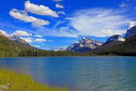 カナダ カナディアンロッキー ウォーターファウル湖