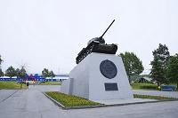 ロシア サハリン 勝利広場の戦車