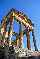 チュニジア ドゥッガ遺跡 キャピトル神殿