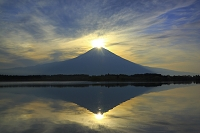 静岡県 田貫湖 ダイアモンド富士