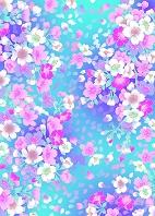 カラフル桜