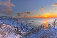 日の出 羅臼港 北海道