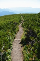 乗鞍岳・大黒岳から北にのびる道 岐阜県・長野県