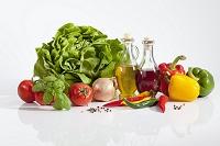 野菜とオリーブオイルと酢