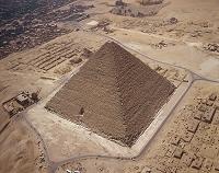 エジプト・ギザ クフ王のピラミッド