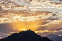 光芒と岐阜城