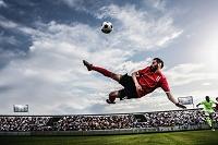 サッカー ボレーシュート