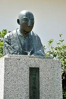 岡山県 津山洋学資料館 宇田川玄随の胸像