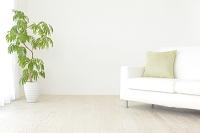 白いソファーのある部屋