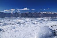 北海道 屈斜路湖の氷とフロストフラワー