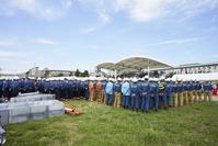 防災訓練 ‐ 倒壊建物等からの救出救助訓練 訓練後の講評