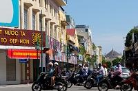 ベトナム ハノイ 町並み