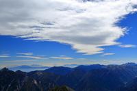 富山県 雄山山頂より北アルプス・富士山遠望