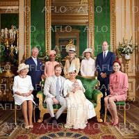 ヘンリー英王子の第1子 アーチ―くん洗礼式