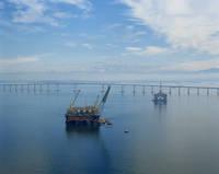 ブラジル 海底油田(オイル・リグ)