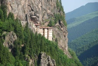 トルコ スメラ修道院