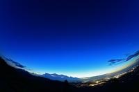 伊勢志摩スカイラインから伊勢平野の夜景