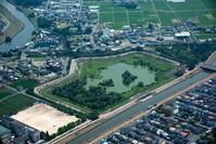 埼玉県 大吉調節池と親水公園周辺