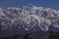 長野県 残雪の五竜岳