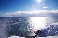 北海道 襟裳岬の冬