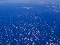 アメリカ 太平洋と雲