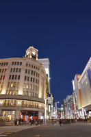 東京都 中央区 銀座4丁目交差点