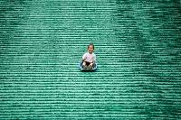愛媛県 朝倉緑のふるさと公園 人工芝スライダー