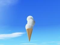 雲のソフトクリーム