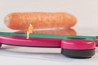 食事制限ダイエットのイメージ
