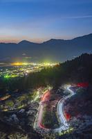 熊本県 高森峠の千本桜