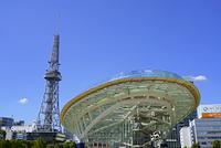 愛知県 名古屋テレビ塔とオアシス21・栄