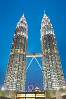 マレーシア クアラルンプール ペトロナス・ツイン・タワー