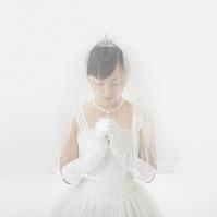 ベールを被った花嫁