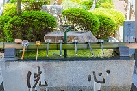 香川県 四国八十八箇所(第八十八番) 大窪寺 手水舎
