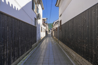 岡山県 矢掛の街並み