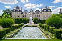 フランス シュヴェルニー城 城北側
