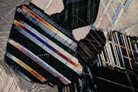 大理石の顕微鏡写真