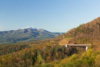 北海道 三国峠の展望台からの眺め