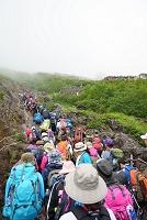 山梨県 富士登山(七合目)