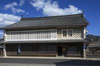 愛媛県 八日市護国の街並み 上芳我家